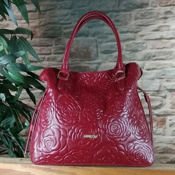 Zooler Bags   Purse Red Leather Large Designer Handbag   Poshmark 72f255ac84